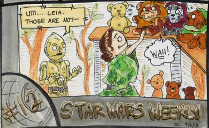 STAR WARS WEEKLY #12 by evangeline40003