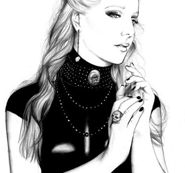 Simone Simons by Flxrence