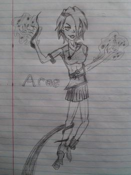 Arae: the Child of Chaos by TaranusHS