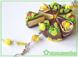 Chocolate and Green by leinchen