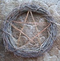 Wiccan Wreath by House-of-Creativity