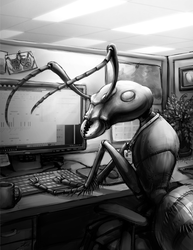 SimAnt - Office Worker by OnyxSerpent
