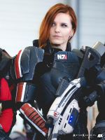 Commander Shepard of Mass Effect / cosplay by Vocoder