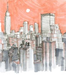 the city by michelle-chen