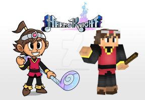 Tempo - HarmoKnight | Minecraft Skin by MarioMinecraftMix