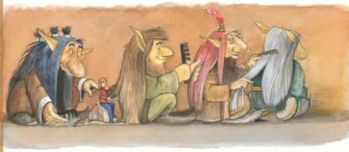 Jola and the trolls by P0UL