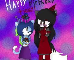 happy *late* birthday tiggyyau26!!! by xxDorky-Artist275xx