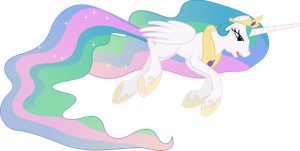 Princess Celestia on the Ground by 90Sigma