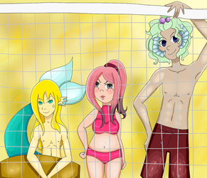 Ti-collab Volleyball by LunaBell