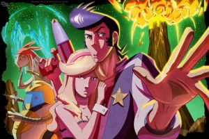 Space Dandy! by DarkKenjie