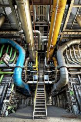 Stairs And Pipes by ZerberuZ