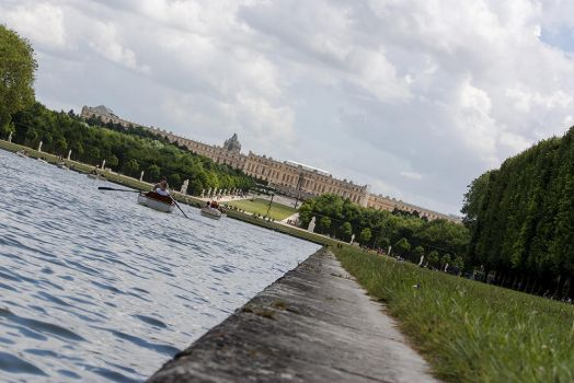 Versailles grand canal by cjvernet