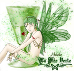 Drinks Characters: Absinthe by ForsakenChld