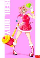 My real Amy Rose by Witchking00