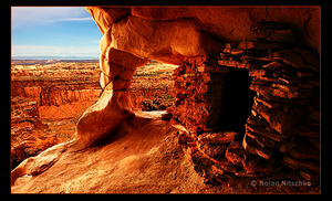 Ancient Puebloan Granary by narmansk8