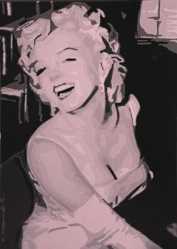 Marlyn Monroe by Lunardeed