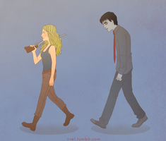 Warm Bodies - R and Julie by Irrel