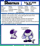 Shamus - Wavelyn Mascot by TheMysteriousVampire