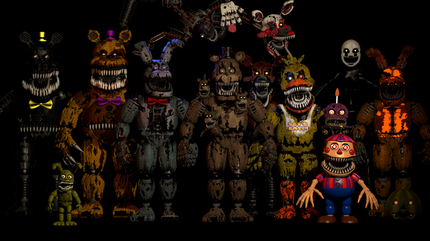 The Nightmares (New) by ShadowArtist111