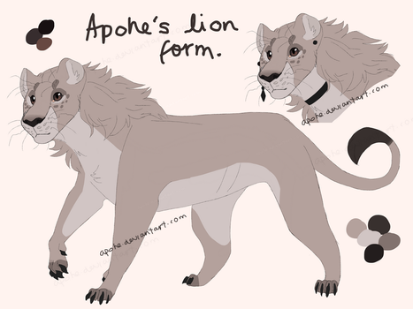 Apohe's Lion form by Apohe