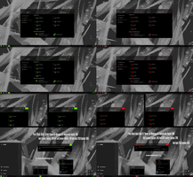 Pure Black Glass Green and Red v2 Theme Win10 1803 by Cleodesktop