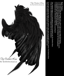 Feathered Demon Wings 02 by Thy-Darkest-Hour