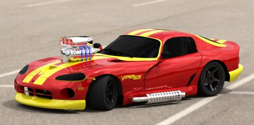 Dodge Viper Coupe tuning by TheRedCrown