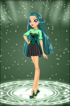 LoliRock: Princess of Borealis ~ Lyna by MiniatureBlueOwl