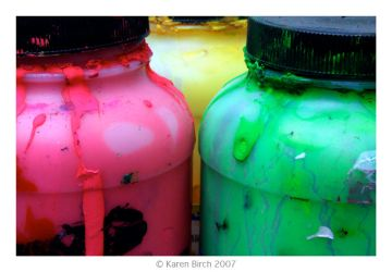 Paint Pots by karenbirch