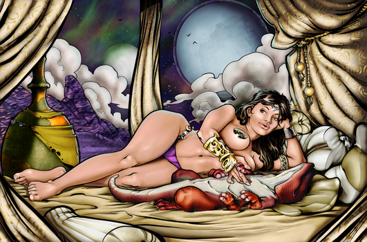 Princess Of Mars revisited by M-Link