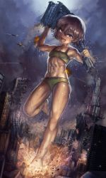 Noriko's Rampage by Yilx
