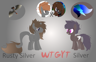 Rusty Silver and Silver by MineHyljeDeviantArt