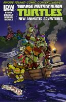 TMNT #4 Cover Art Rhode Island Comic Con Exclusive by IanNichols