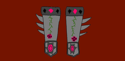 Dragon Armor Gauntlets by witchpixe