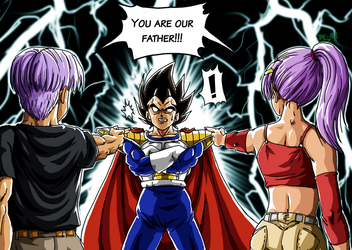 DBM You are our father, Vegeta by BK-81