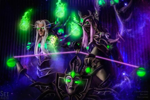 HotS - Master Sylvanas and Master Kael'thas (3) by Feyische