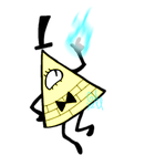 Quick drawing- Bill Cipher by Gameaddict1234