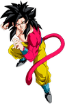 goku ssj 4 by maffo1989