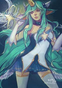 Star Guardian Soraka by alaskaYU