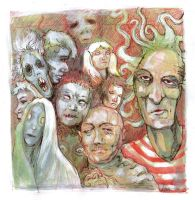 Chaos Revellers Faces by zyphryus