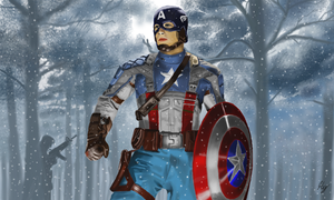 Captain America: The Winter Soldier by WeaponX-Art