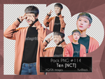 Pack PNG #114 - Ten [NCT] |01| by YuriBlack