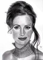 Julia Roberts by tanjadrawing
