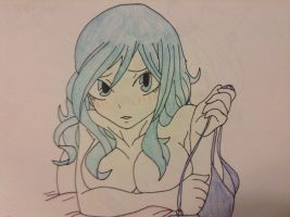 Juvia by WhiteBleedingFox