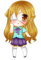 Art Trade with Chibi-chii by SaMelodii