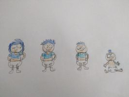 Marky, Bobby, Eddie, and Dot by Prentis-65