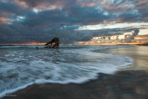 Vestige of the Peter Iredale by DreaErvin