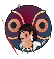 princess mononoke by kshah
