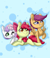 Cutie Mark Crusaders by PinkTabico