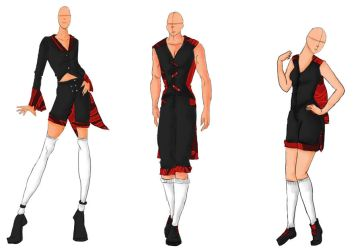 Red and Black McQueen Inspired by Gangrelhottie